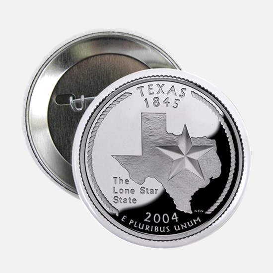 "Texas State Quarter - 2.25"" Button"