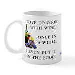 Cooking with Wine Mug