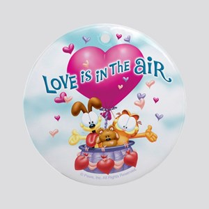 Love is in the Air Ornament (Round)