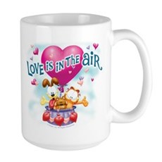 Love is in the Air Large Mug