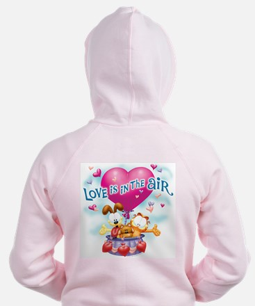 Love is in the Air Zip Hoodie