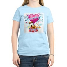 Love is in the Air Women's Light T-Shirt