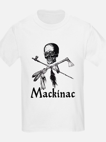 Mackinac Island Pirate Design T-Shirt