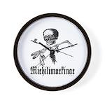 Michilimackinac Wall Clock