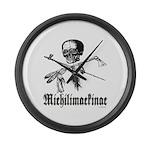Michilimackinac Large Wall Clock
