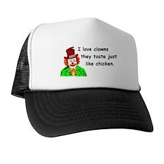 I love clowns Trucker Hat