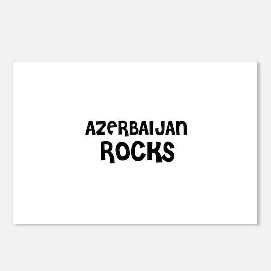 AZERBAIJAN ROCKS Postcards (Package of 8)