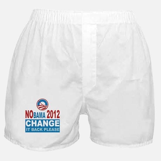 Not Obama 2012 Boxer Shorts