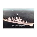 USS FARRAGUT Mini Poster Print