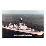 USS FARRAGUT Postcards (Package of 8)