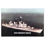 USS FARRAGUT Large Poster