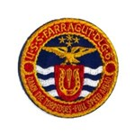 USS FARRAGUT Button