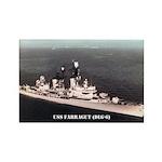 USS FARRAGUT Rectangle Magnet (10 pack)