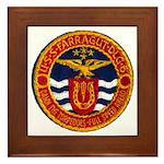 USS FARRAGUT Framed Tile