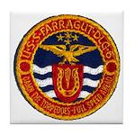 USS FARRAGUT Tile Coaster