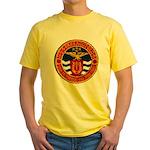 USS FARRAGUT Yellow T-Shirt