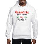 Christmas makes... Hooded Sweatshirt