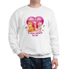 You and Me Sweatshirt