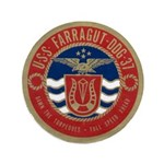 "USS FARRAGUT 3.5"" Button (100 pack)"