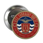 "USS FARRAGUT 2.25"" Button (100 pack)"