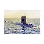 USS FLYING FISH Mini Poster Print