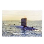 USS FLYING FISH Postcards (Package of 8)