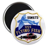 """USS FLYING FISH 2.25"""" Magnet (100 pack)"""