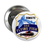 """USS FLYING FISH 2.25"""" Button"""