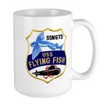 USS FLYING FISH Large Mug
