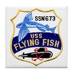 USS FLYING FISH Tile Coaster