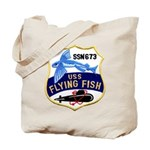 USS FLYING FISH Tote Bag