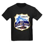 USS FLYING FISH Kids Dark T-Shirt