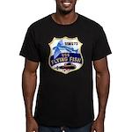 USS FLYING FISH Men's Fitted T-Shirt (dark)