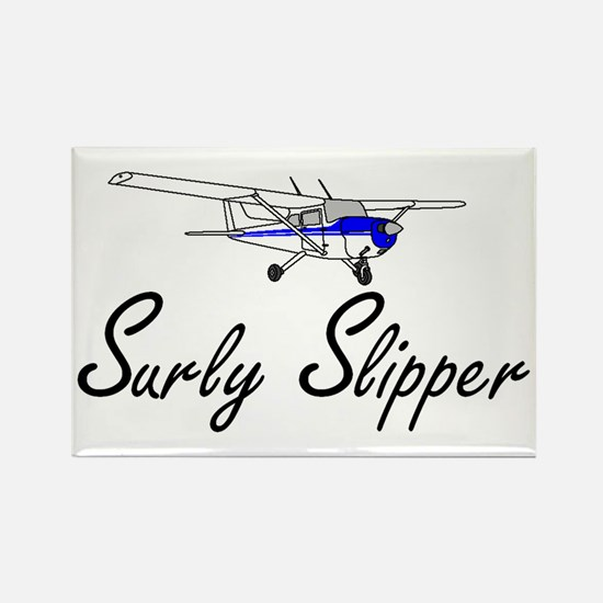 """Surly Slipper"" Rectangle Magnet"