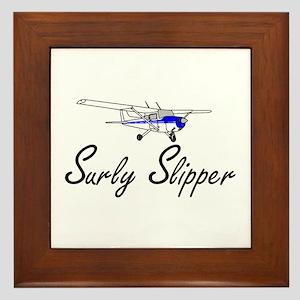 """""""Surly Slipper"""" Framed Tile"""