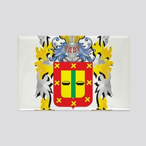 Palomar Family Crest - Coat of Arms Magnets