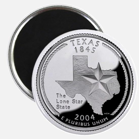 Texas State Quarter - Fridge Magnet