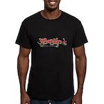 Gumamela Men's Fitted T-Shirt (dark)