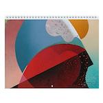 ABSTRACTIONS - Wall Calendar
