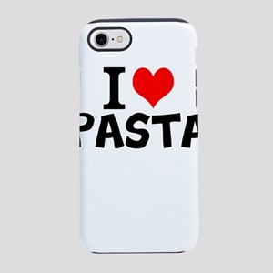 I Love Pasta iPhone 7 Tough Case