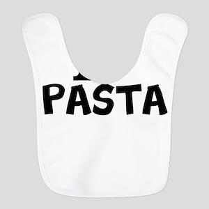 I Love Pasta Polyester Baby Bib