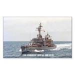 USS FORREST ROYAL Sticker (Rectangle 50 pk)