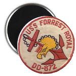 """USS FORREST ROYAL 2.25"""" Magnet (100 pack)"""