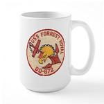 USS FORREST ROYAL Large Mug