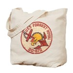 USS FORREST ROYAL Tote Bag