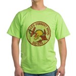 USS FORREST ROYAL Green T-Shirt