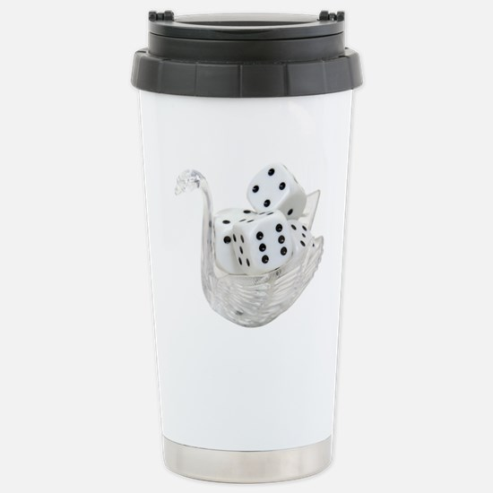 Dice Luxury Stainless Steel Travel Mug