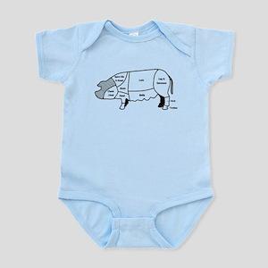 Pork Diagram Infant Bodysuit