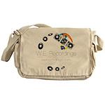 We Recs Logo Reversed Messenger Bag
