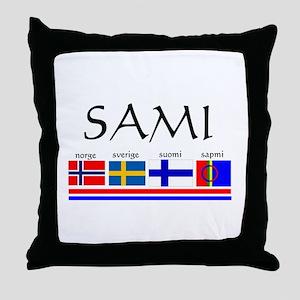 Sami souvenir Throw Pillow